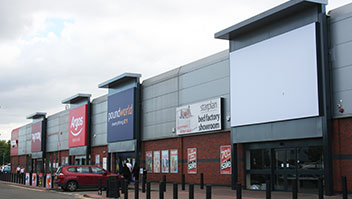 Replacement Entrance Canopies, Gallagher Retail Park, Coventry